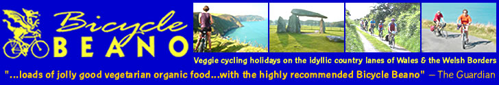 Click here for veggie cycling holidays