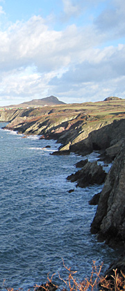 Welsh Cliffs in Wales image
